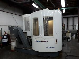 Kitamura Hx 400if Horizontal Mill 2005 Full 4th Axis Fanuc 16imb 13k Rpm 150atc