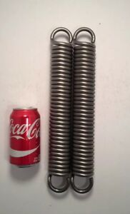 331 Wire Heavy Duty Extension Spring Lot Of 2