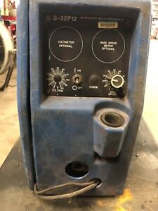 Miller S 32p 12 Spool Model Voltage Sensing Wire Feed Welder