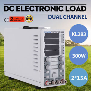 110v Dual Channel Dc Electronic Load Adjustable Battery Charger Dual Mode Cc cv
