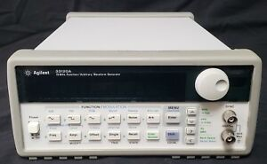 Hp Agilent 33120a 15 Mhz Function Arbitrary Waveform Generator