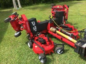 2012 Progressive Pro Flex 120 Wide Area Tractor Finish Lawn Rotary Rough Mower