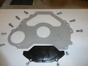 1969 1970 351 Ford Mustang Cougar Fmx Transmission Shield Block Plate W Bolts