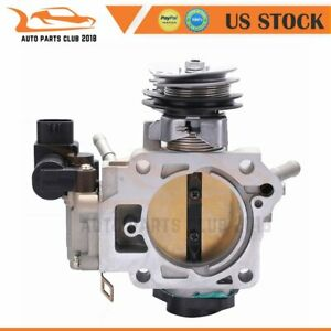 Throttle Body For Honda Accord 2 4l 2003 2004 2005 Lx Ex Dx Se 16400raaa61 New