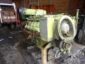 Deutz Bf10l513 Twin Turbo Diesel Engine Runner 513 V10 Haul Truck Compressor