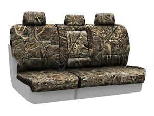 Coverking Realtree Max 5 Camo Custom Tailored Rear Seat Covers For Ford F350