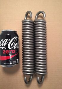 343 Wire Heavy Duty Extension Spring Lot Of 2