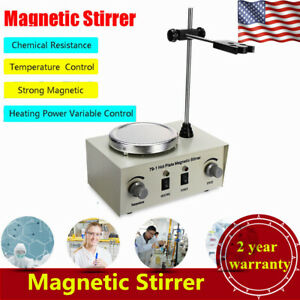 79 1 Hot Plate Magnetic Stirrer Mixer Stirring Lab 1l Dual Control 0 2400r min