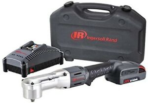 Ingersoll Rand Right Angle Impact Wrench W 1 Battery Charger Case Kit