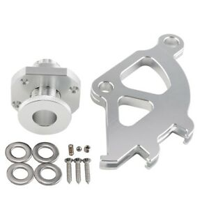 For 96 04 Ford Mustang Firewall Adjuster And Clutch Quadrant Kit Silvery Billet
