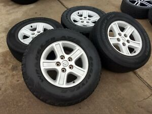 17 Dodge Ram 1500 Oem Factory Wheels Rims Tires 2265 A 2007 2008 2009 2010 2011