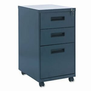 Alera Mobile Pedestal File Cabinet With Visible Casters 3 Drawers