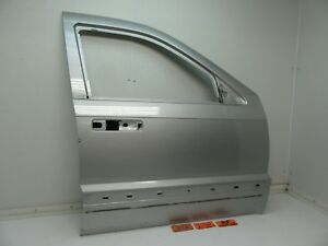 05 07 Jeep Grand Cherokee Right Front Door Panel Shell Silver Passenger Side Rf