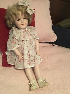 Shirley Temple Doll Porcelain