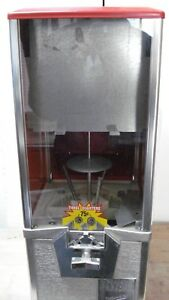 Northwestern 2 Capsule Vending Machine 75 Coin Mechanism W Extended Back