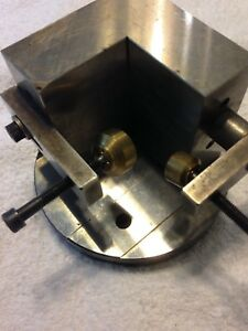 System 3r 100mm Base With Angle Plate
