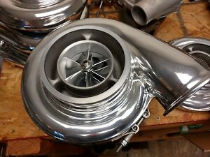 Borg Warner S475 90 1 00 1 10 A r Twin Scroll T4 Turbo S400 Billet