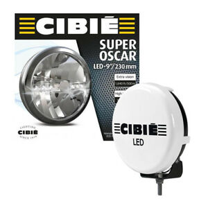 Pair Of Cibie Super Oscar 9 Black Auxiliary Light Fits Various Cars 45308