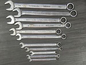 Matco Sae Combination Wrench 11 Of 12pc Set 1 4 7 8 Wcl Wcl28212pt 6pt No