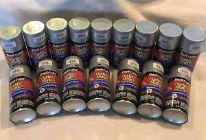 16 Cans Duplicolor Bgm0535 Perfect Match Touch up Paint Silver Metallic