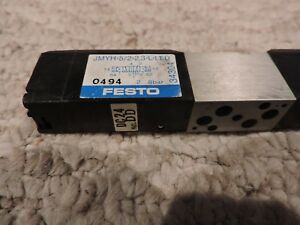 Festo Jmyh 5 2 2 3 l led Mini pneumatic Solenoid Actuated Valve Never Used