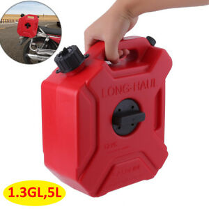 1 3 Gallon 5l Portable Oil Gas Can Spare Container Pot Anti static Can Fuel Tank