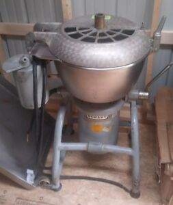 Hobart Vcm 40 Vertical Chopper Cutter Mixer Pizza Dough Machine Vcm40