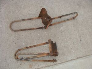 1978 1979 Ford Bronco Ubolts U Bolts W Plates Used With A 4 Lift Block