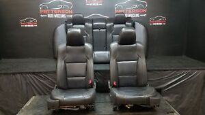 2011 Ford Taurus Front Rear Seats Power Leather Black Nw