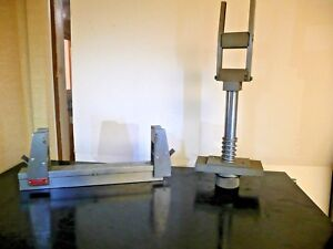 Tinius Olsen Three Point Bend Test Flexural Tool Atsm D790 Compression Tensile