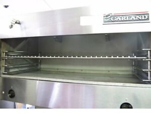 Garland M43r Master Series Heavy Duty Gas Range Cric 36 Infrared Cheese Melter