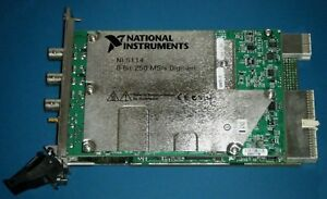 Ni Pxi 5114 Dual Channel 250ms s Digitizer Scope National Instruments tested