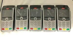 Refurb Ingenico Iwl 250 255 3g Gprs Wireless Terminal set Of 5 W Charging Base