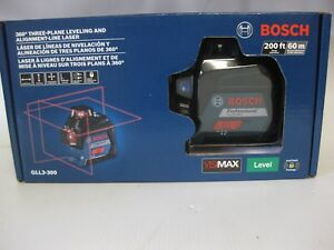 Bosch Gll3 300 360 Degree Three plane Leveling And Alignment line Red Laser