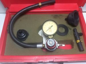 Mac Tools St225dk Cooling System Tester Good Condition