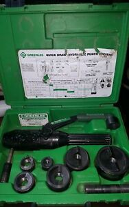 Greenlee 7906sb Quickdraw 90 Hydraulic Punch Driver Set