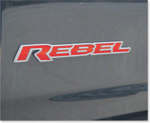 2019 2020 Ram Rebel Badge Inlay Decal Sticker