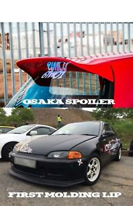 Osaka Spoiler First Molding For Honda Civic Eg 92 95 Eg6 Spoon Sir Vti