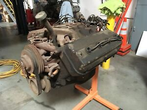 1955 Chrysler Fire Power 331 Hemi Engine Motor Triple Nickel 555 Heads