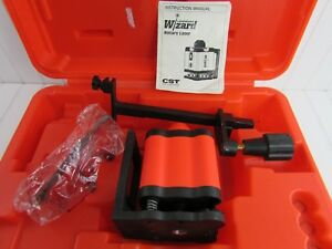 Cst Lasermark Wizard Rotary Laser Level With Case Instructions