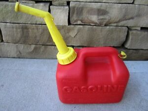 Sears Chilton 1 Gallon Vented Gas Fuel Can Spout P10 33624 Made In Usa