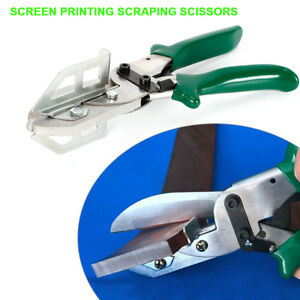 Silk Screen Printing Squeegee Rubber Blade Cutter Scraping Cutting Tool Usa
