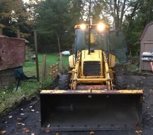 New Holland 555e Loader Backhoe 4wd Nice Ford Tractor 555e