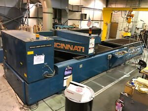 Co2 Laser Cincinnati Cl 6 1500kw