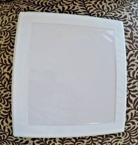 Lot Of 4 Avery Framed Window 1 1 3 D ring One Touch Binder White