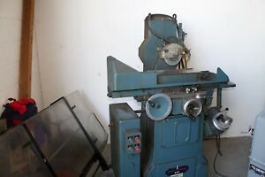 Jones And Shipman Model 540 Surface Grinder 6 X 18 Magnetic Chuck
