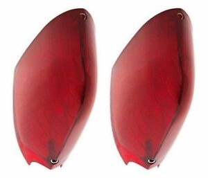 1954 1955 1956 Cadillac Tail Light Lens 1 Pair Reproduction