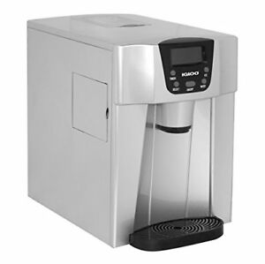 Igloo Ice227 silver Compact Ice Maker And Water Dispenser Silver
