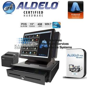 New Touch Dynamic Breeze Aldelo Pro Restaurant bar pizzeria Pos System I3 4gb