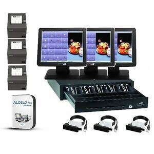 Bematech Logic Controls All in one Restaurant Bar Pizza Pos Window 7 Pos Ready